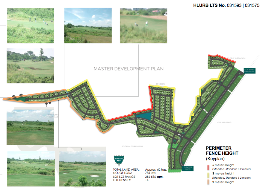 Alabang West detailed plan