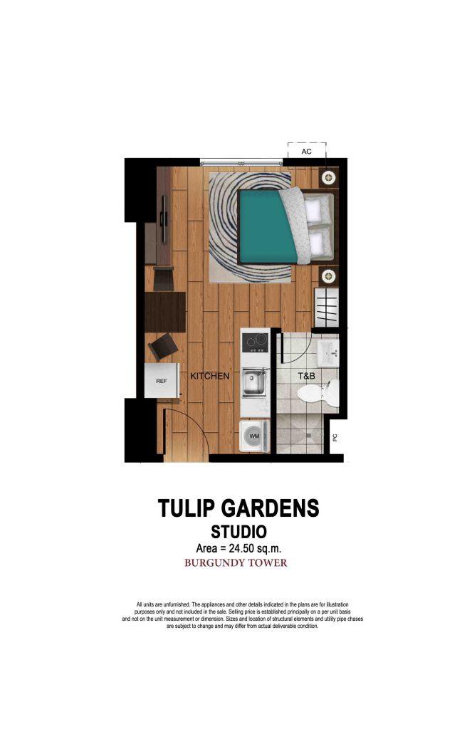 Tulip Gardens - Studio