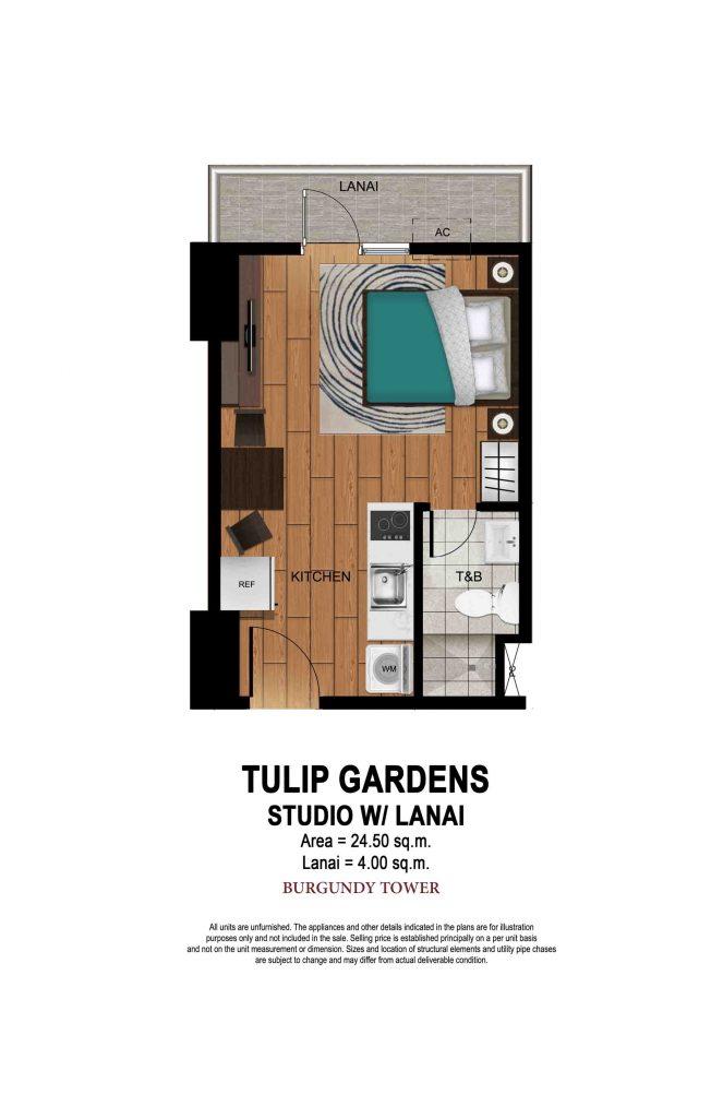 Tulip Gardens Studio with Lanai
