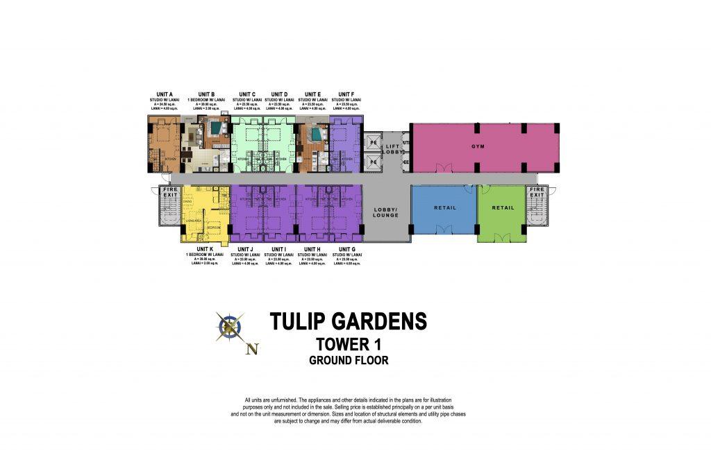 Tulip gardens floor plan