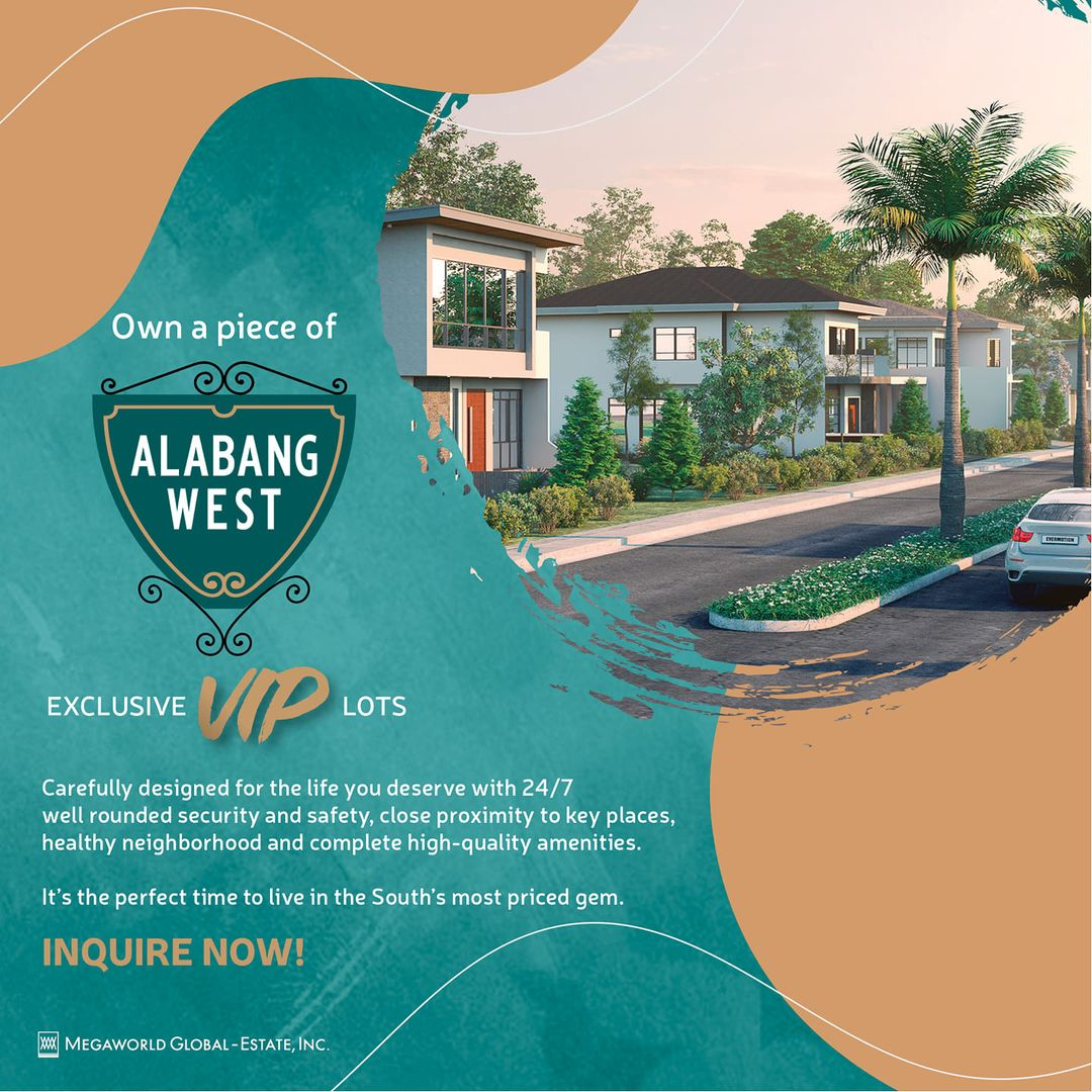 VIP lots at Alabang West now open