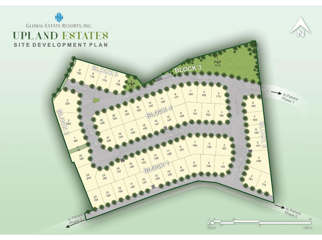 The Upland Estates SDP